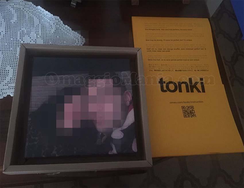 cornice personalizzata con foto Tonky di Marco