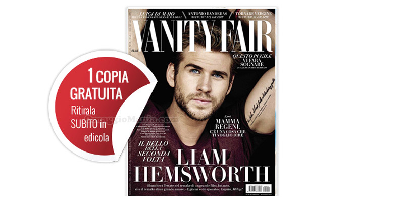 coupon omaggio Vanity Fair 22