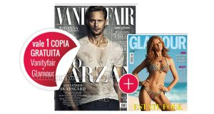 coupon omaggio Vanity Fair 24 e Glamour 289