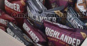fornitura patatine Highlander con 44 Brave Days di Monica