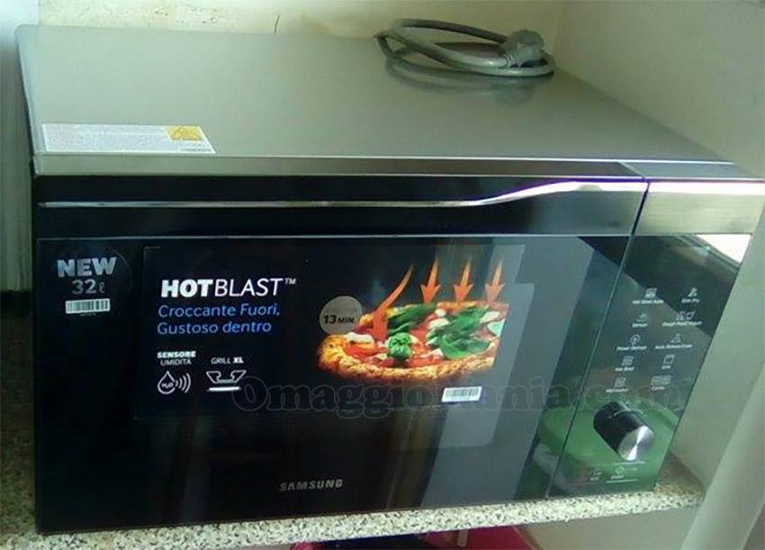 forno Samsung HotBlast di Lady