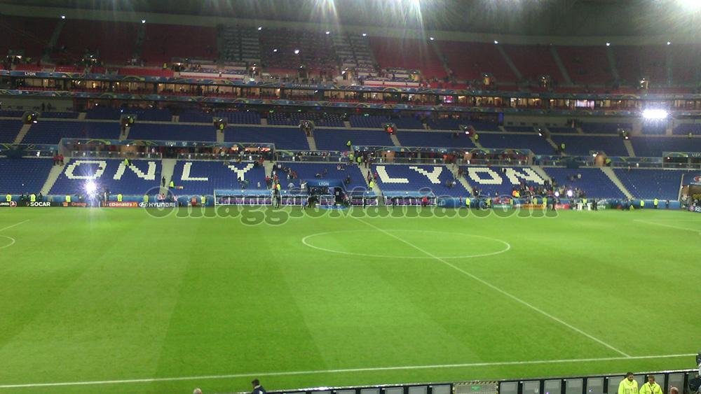 foto stadio Lyon UEFA Euro 2016