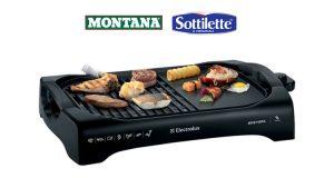 grill da tavola concorso Vinci l'America Montana Sottilette