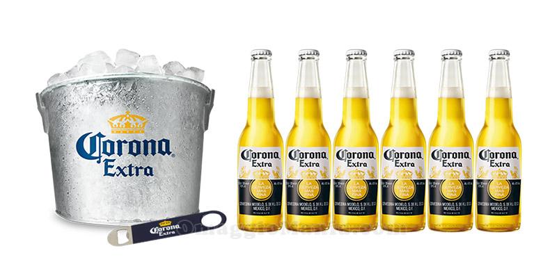 kit Ice Bucket Birra Corona Extra