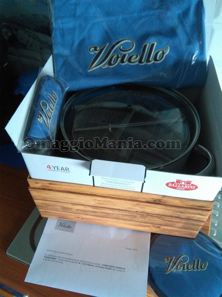 kit Voiello Master of Pasta di Natty
