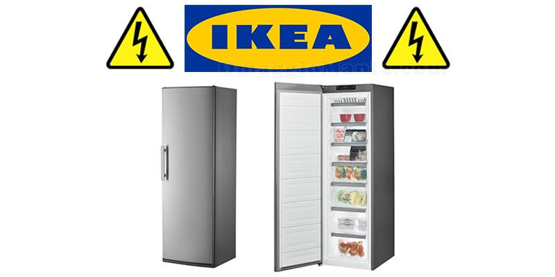pericolo scossa elettrica IKEA Frostfri