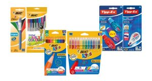 prodotti BIC, BIC Kids e Tipp-Ex