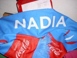 sciarpa Coca Cola di Nadia