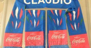 sciarpa Coca Cola di Valeria