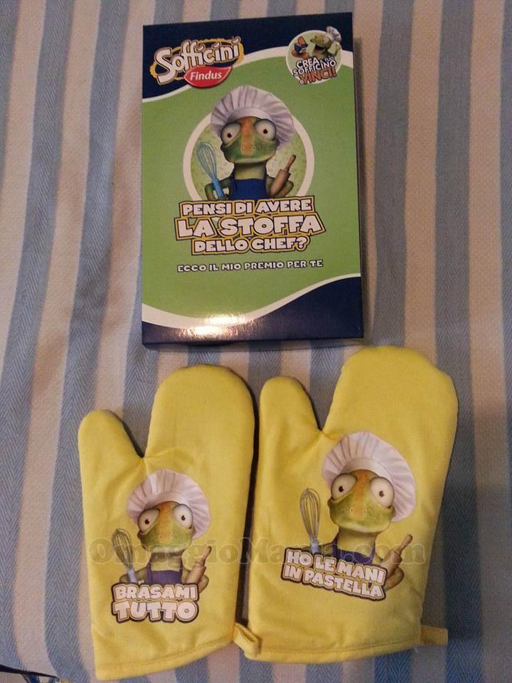 set guanti Findus di Valeria