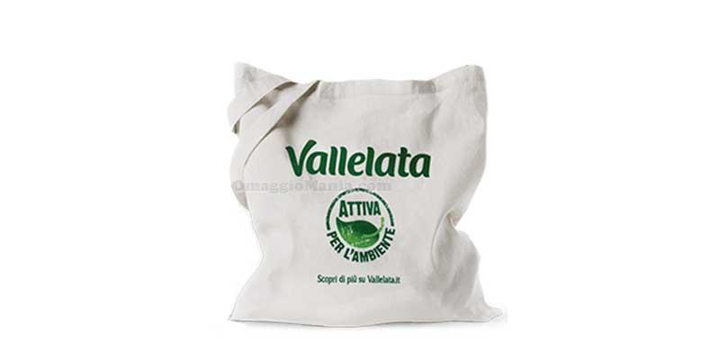 shopper in cotone Vallelata