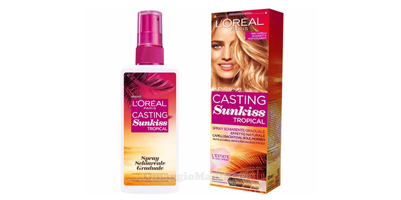 spray schiarente L'Oreal Casting Sunkiss Tropical