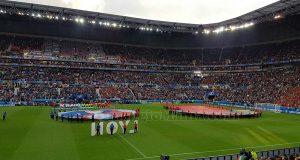 stadio partita Belgio-Italia a Lyon