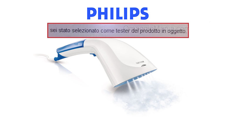 tester Philips Steam&Go