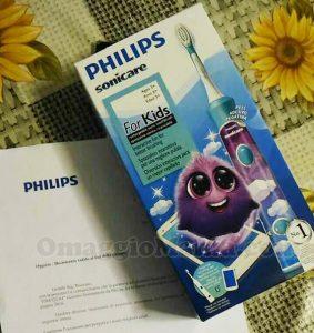 tester spazzolino elettrico Philips For Kids