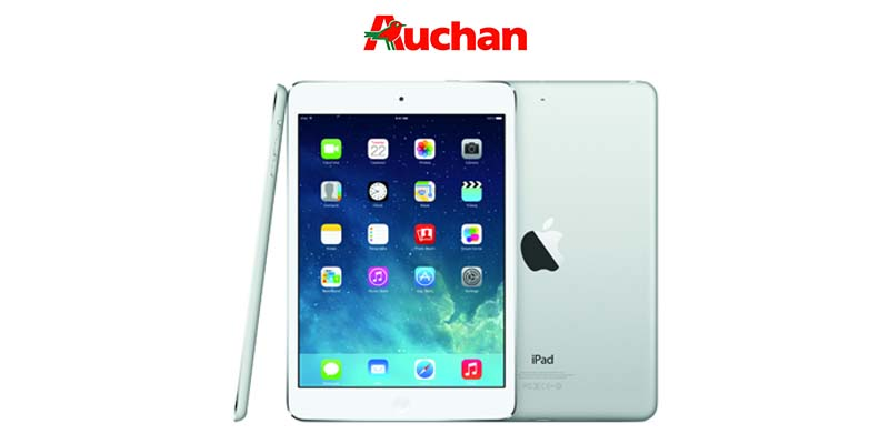 vinci iPad con Auchan