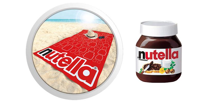 vinci telo mare Nutella
