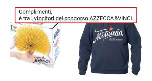 690 vincitori concorso Azzecca&Vinci La Molisana