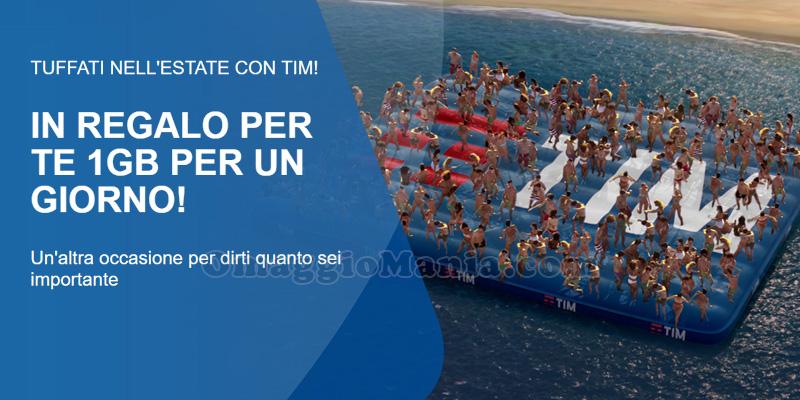 Estate con TIM 1 GB gratis