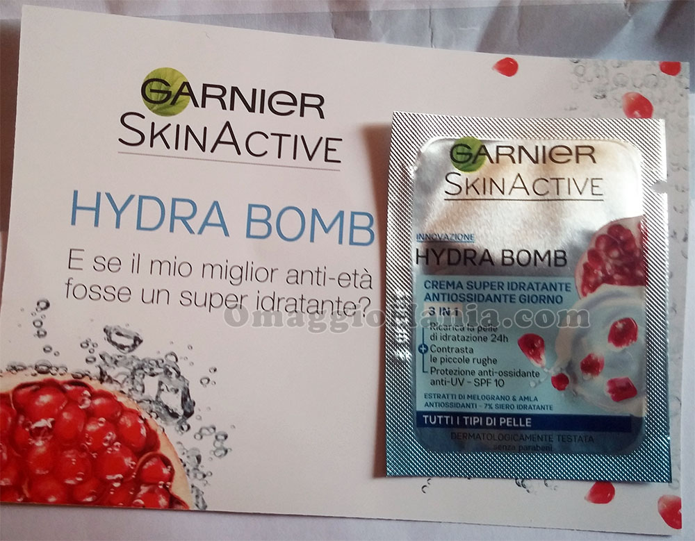 Garnier Hydra Bomb di Lara