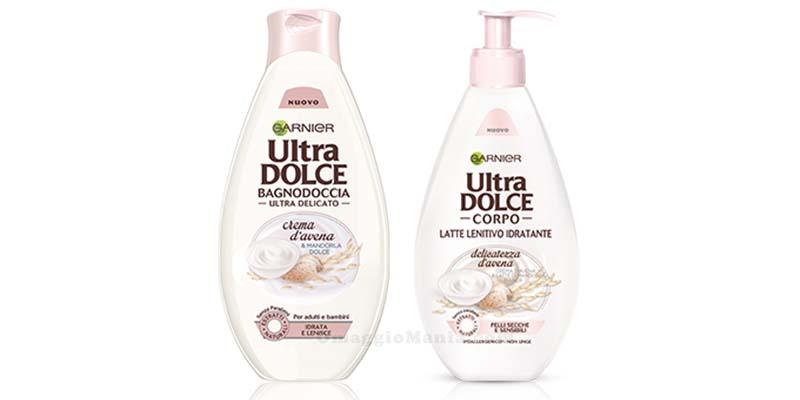 Garnier Ultra Dolce bagnodoccia e latte lenitivo