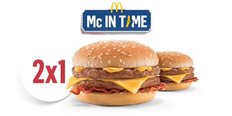Mc in Time Crispy McBacon omaggio