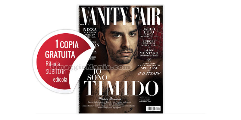 Vanity Fair 29 coupon omaggio