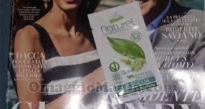 Vanity Fair con campioncino gel doccia Naturel Winni's