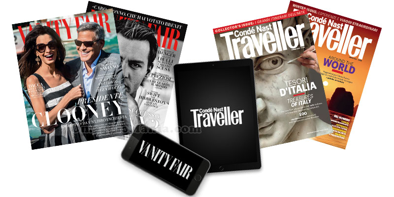 Vanity Fair e Traveller