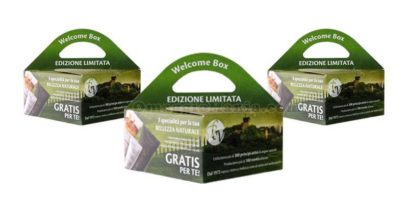 Welcome Box Bottega Verde 2016
