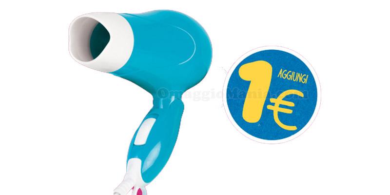 asciugacapelli a 1 euro da Eurospin