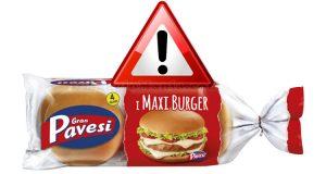 attenzione Maxi Burger Pavesi
