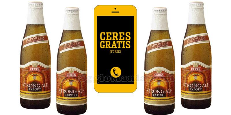 birra Ceres gratis forse