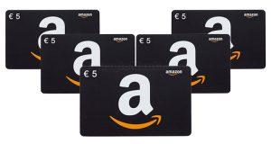 buoni regalo Amazon 5 euro