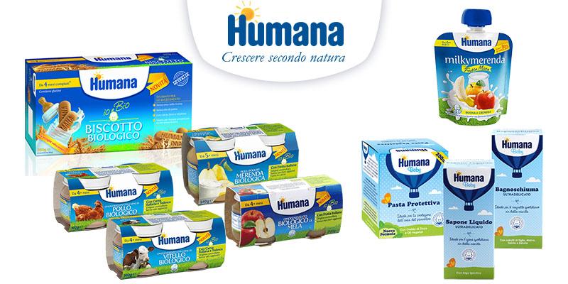 buoni sconto Humana luglio 2016
