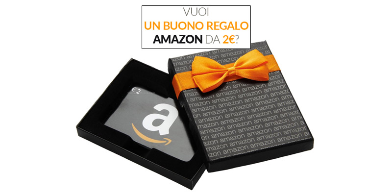 buono regalo Amazon 2 euro LovBY