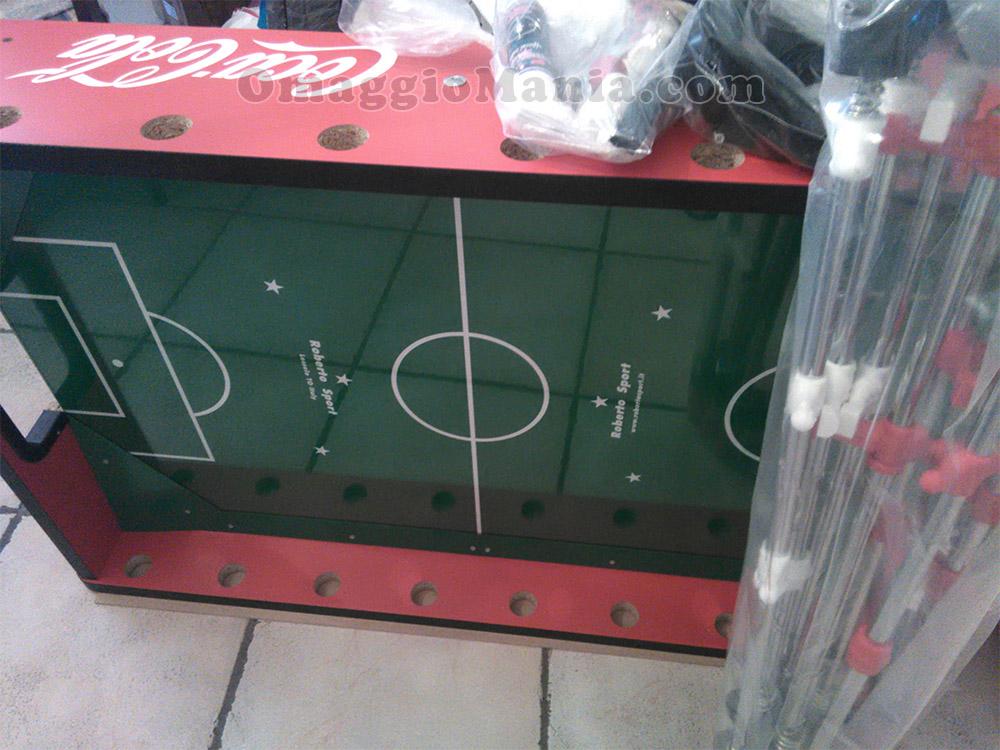 calcio balilla Coca Cola di Federico Maria