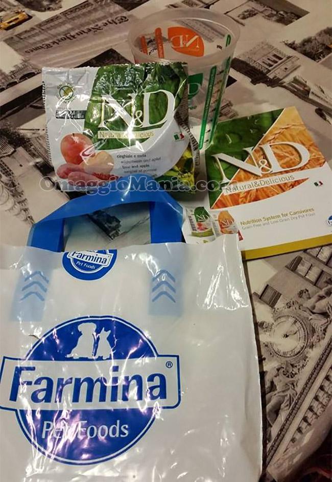 campioni omaggio Farmina N&D di Federica
