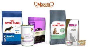 cibo per cani o gatti Miscota