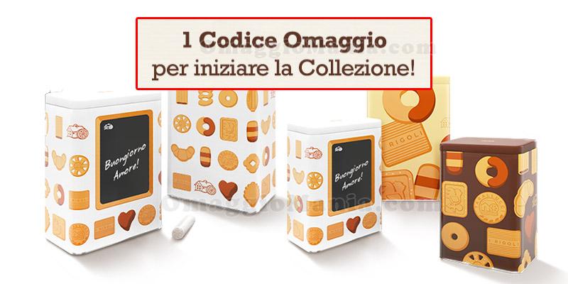 codice omaggio per iniziare la Collezione Biscolatte Mulino Bianco