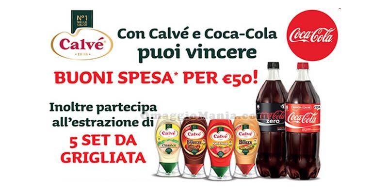 concorso Coca Cola Calvé 2016
