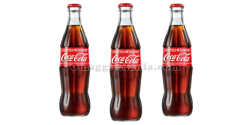 concorso Coca Cola Ogni bottiglia una canzone