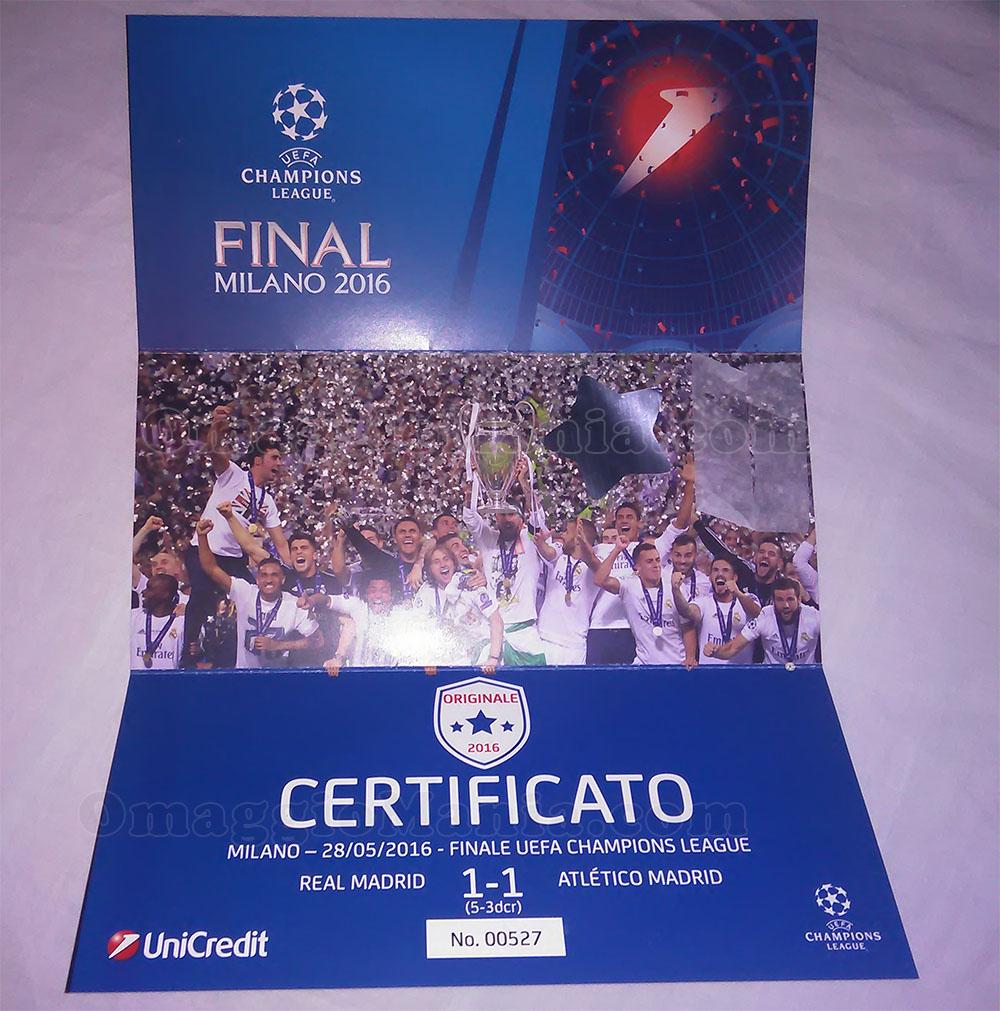 coriandoli Finale Champions League 2016 di Federico Maria