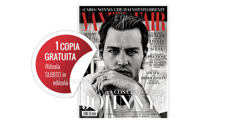 coupon copia omaggio Vanity Fair 26