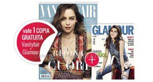 coupon omaggio Vanity Fair 28 e Glamour 290