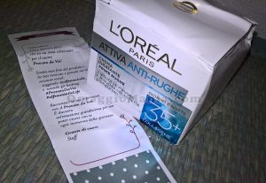 crema Attiva anti-rughe L'Oréal di Marilyn