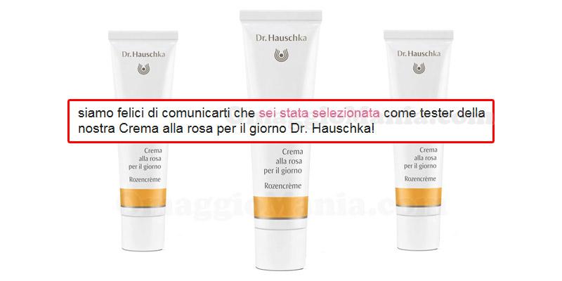 crema alla rosa Dr. Hauschka selezione tester
