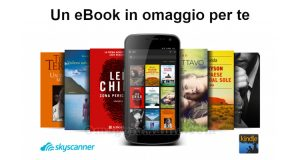 ebook omaggio Skyscanner e Amazon Kindle