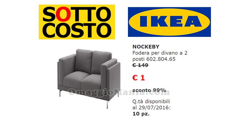 fodera Nockerby sconto sottocosto IKEA 99%
