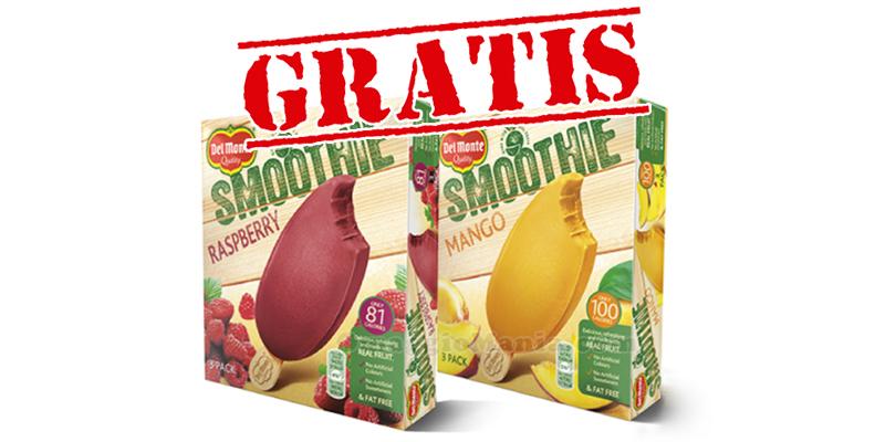 gelati Del Monte Smoothie gratis